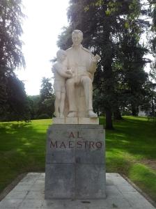 PARQUE DEL OESTE- Al Maestro