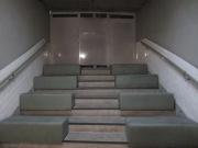 La sala de proyección