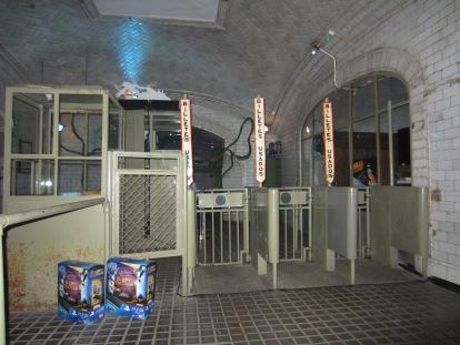 ¿Una mágica estación fantasma o una fantasmagorica estación mágica?
