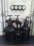 Las botellas de aire coprimido