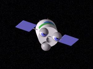 L.O.P.E.Z., el satélite dormilón