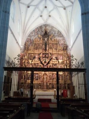 El retablo mayor