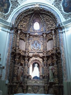 Capilla de las Angustias: ¿una Virgen luminosa o iluminada?