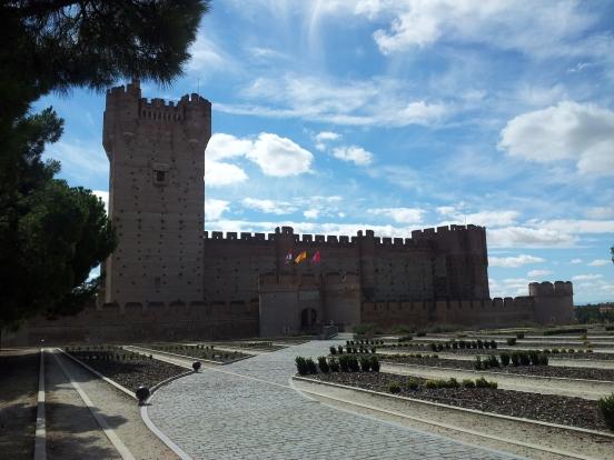 El imponente castillo
