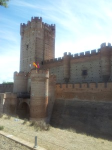 Foso alrededor del castillo