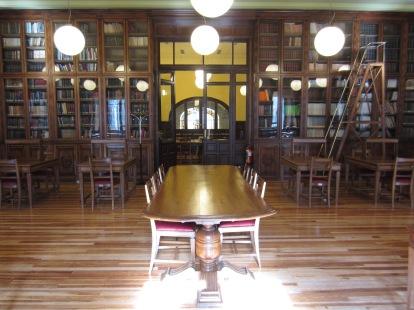 Una biblioteca: La biblioteca