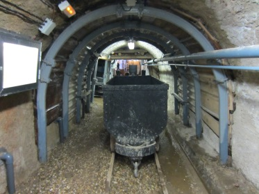 Las vagonetas de los mineros