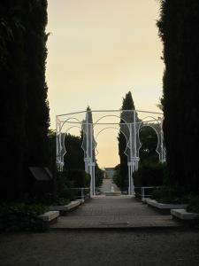 El pabellón del Jardín Árabe
