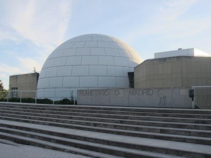 El lugar del reencuentro: el Planetario de Madrid