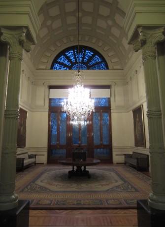 El Salón isabelino