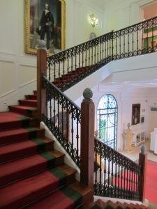 Subiendo por la escalera...