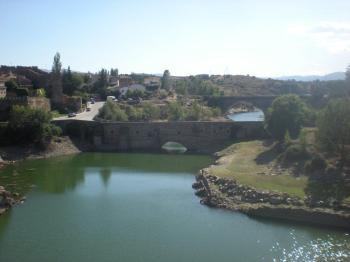 El hermoso pueblo de Buitrago del Lozoya