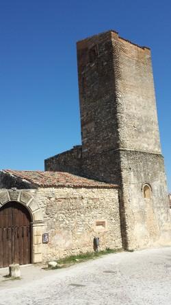 La (¿abandonada?) iglesia de Santa María