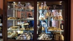 El tentador mostrador de pasteles