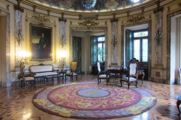 El prestigioso despacho oficial del Presidente del Tribunal