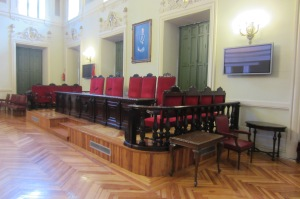 El Salón de Actos, escenario del juicio final sobre Aliapiedi