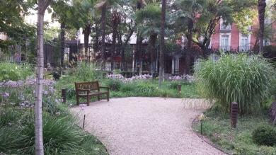 El jardín de la reflexión