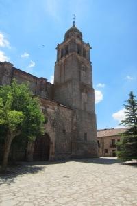 La Colegiata y su torre campanario