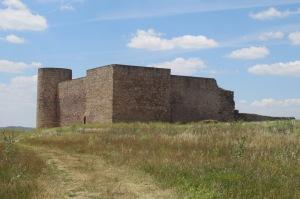 El castillo, actual cementerio