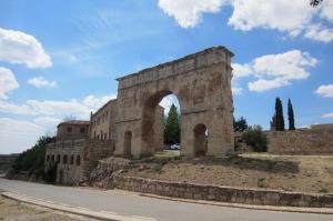 Una soberbia y romana bienvenida