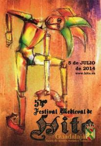 El cartel del Festival medieval 2014