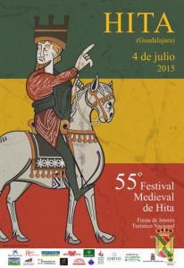 El cartel del Festival Medieval 2015