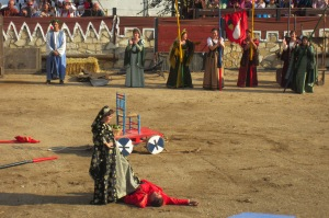 El combate entre don Carnal y doña Cuaresma