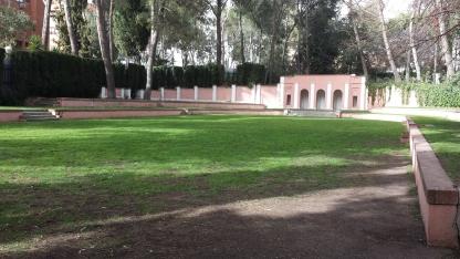 La (ex) pista de tenis