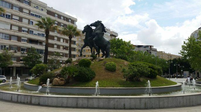 Jerez y sus caballos: en las plazas de siempre...